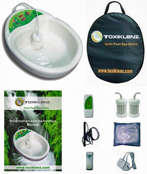 Toxiklenz Ionic Foot Spa