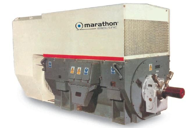 Marathon High Voltage Motor -Cranking , SCIM, SRIM