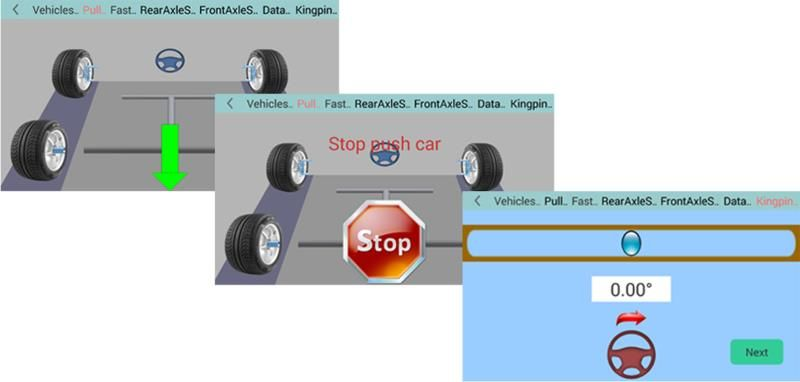 Portable 3D Wheel Aligner