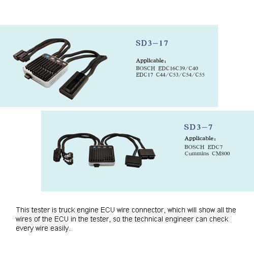 ECU Cables Fast Repair Testing Board