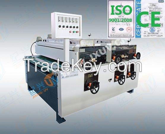 2-5 Lamps UV curing  machine and Heating Leveling Machine