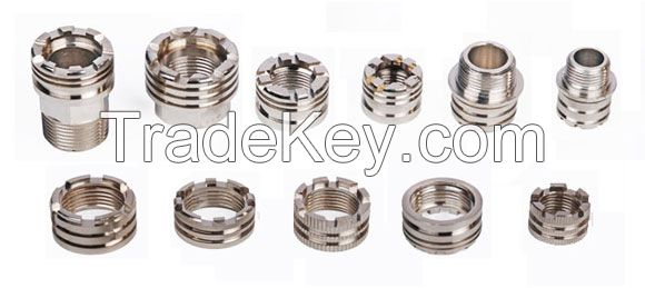 BRASS INSERTS FOR PPR, CPVC FITTINGS