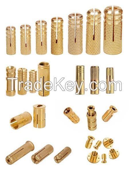 BRASS ANCHOR FOR CONSTRUCTION