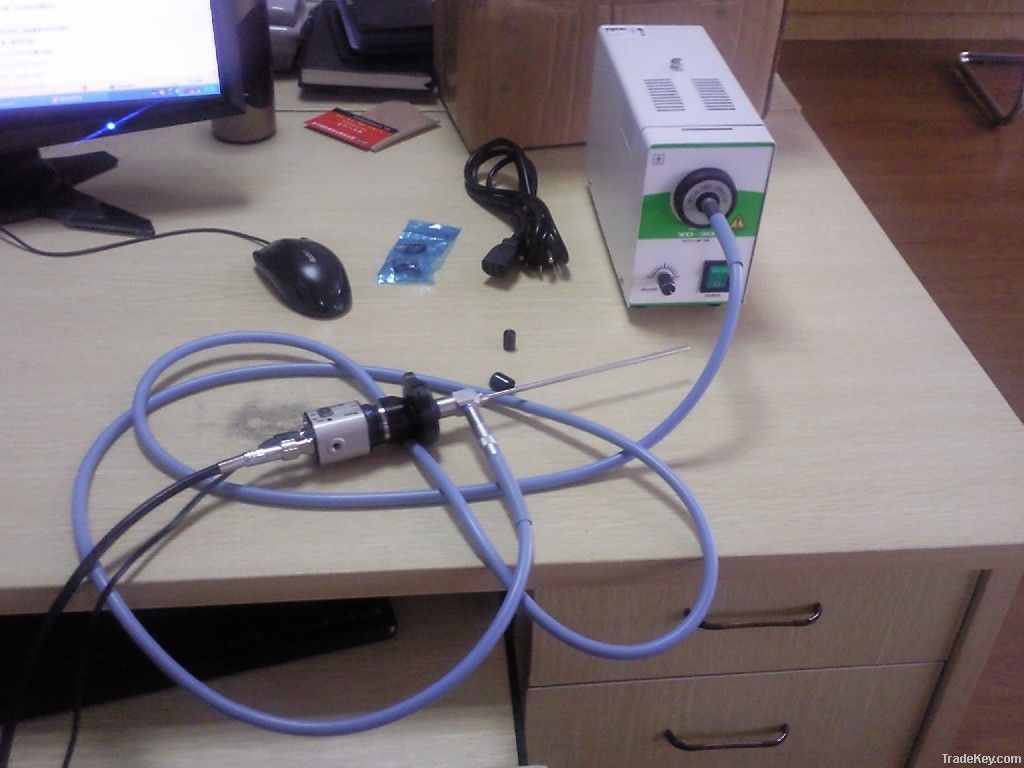 Portable endoscope CCD camera