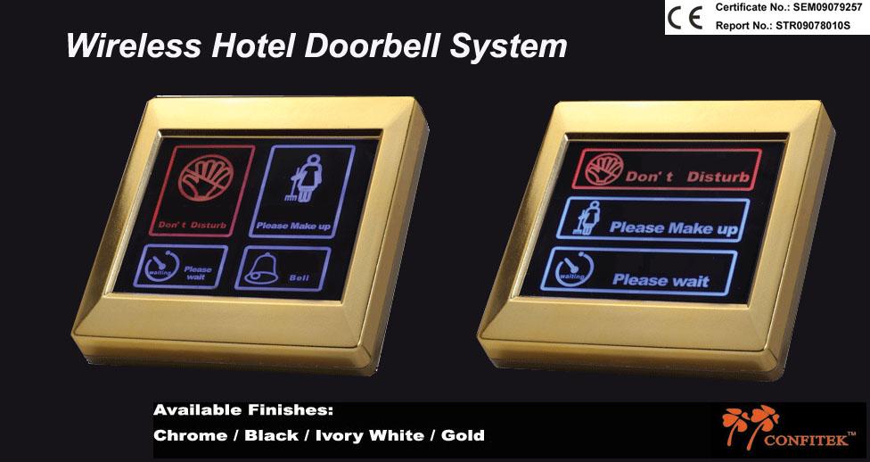 Wireless Hotel Doorbell Switch