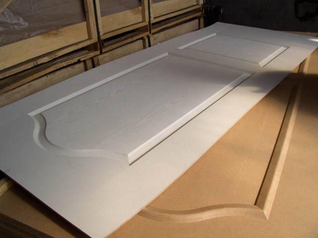 Molded Door Skin ( Melamine faced, Veneered, White Primer )