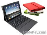 Bluetooth Wireless Keyboard and Leather Portfolio for iPad
