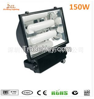 100w 120w 200w LVD low-frequency induction discharge floodlight  80~90Lm/w 60, 000~100, 000hs  5years warranty