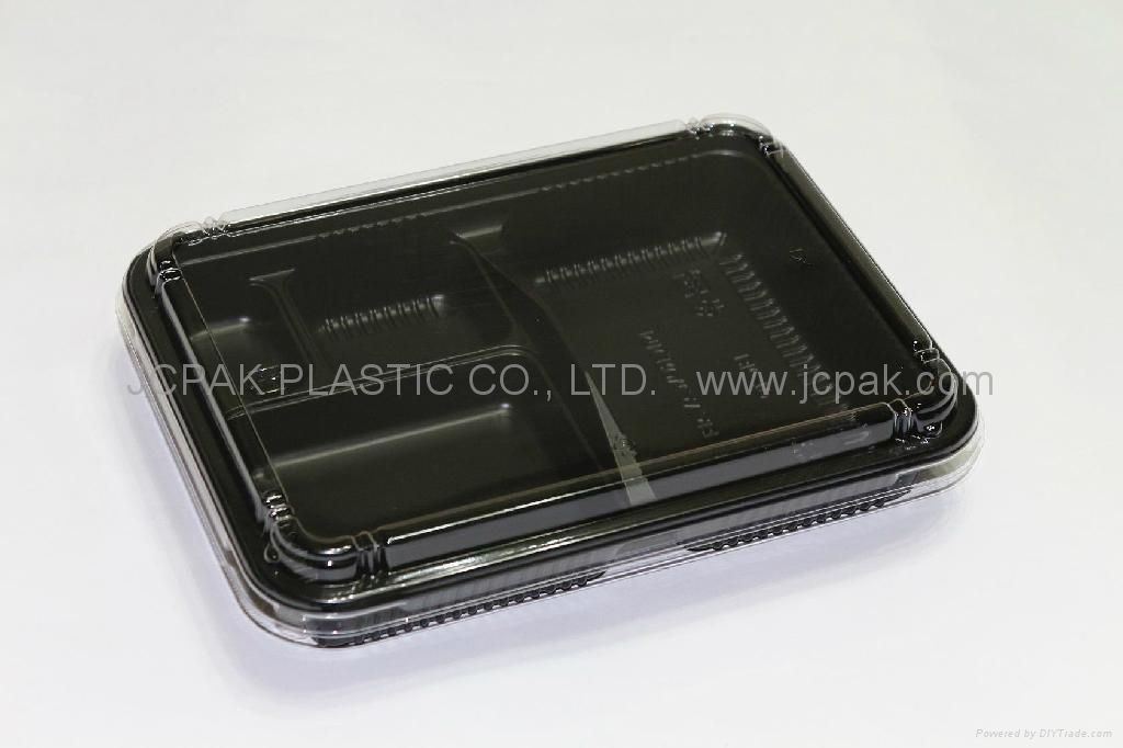 Disposable plastic lunch Boxes
