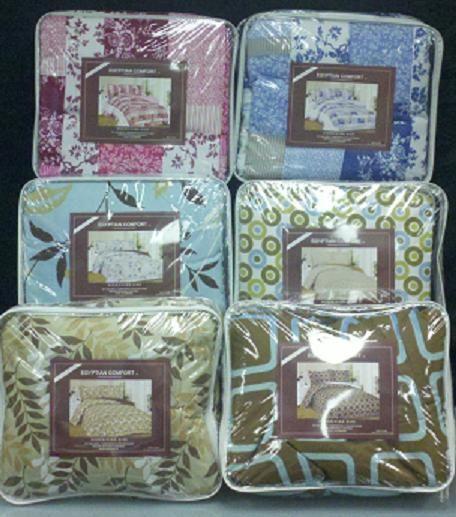 Queen Size Egyptian Comforter Set 3 Piece