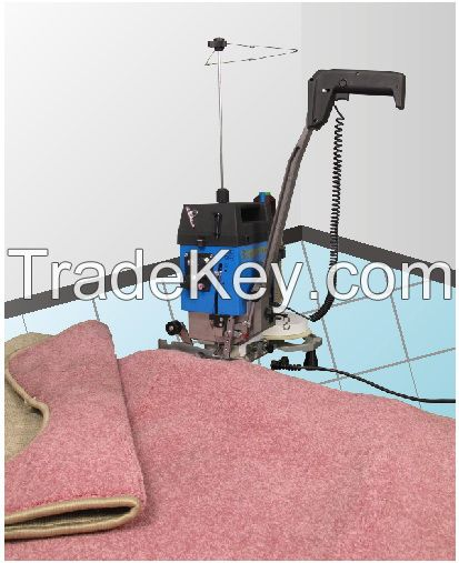 Portable Carpet Overedging Machine