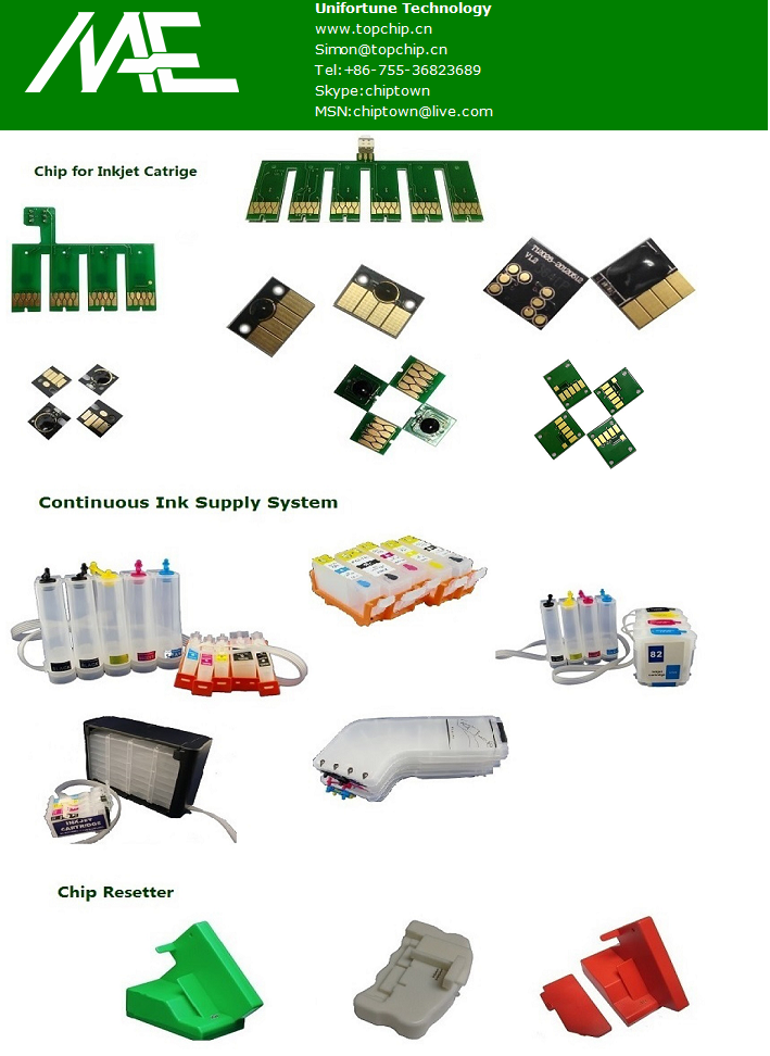 Chip for xp201,xp401 CISS and refillable cartridge