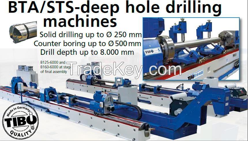 TIBO Deep Hole Drilling Machine