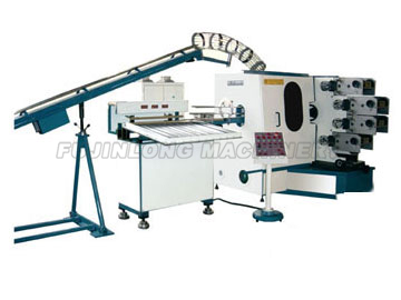 Four Color Curved Surface Offset Printing Machine