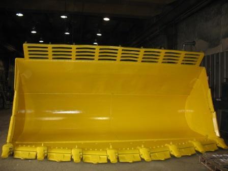 Custom Heavy Equipment Buckets and Attachments