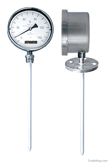 Corrosion-resistant Inflated Thermometer