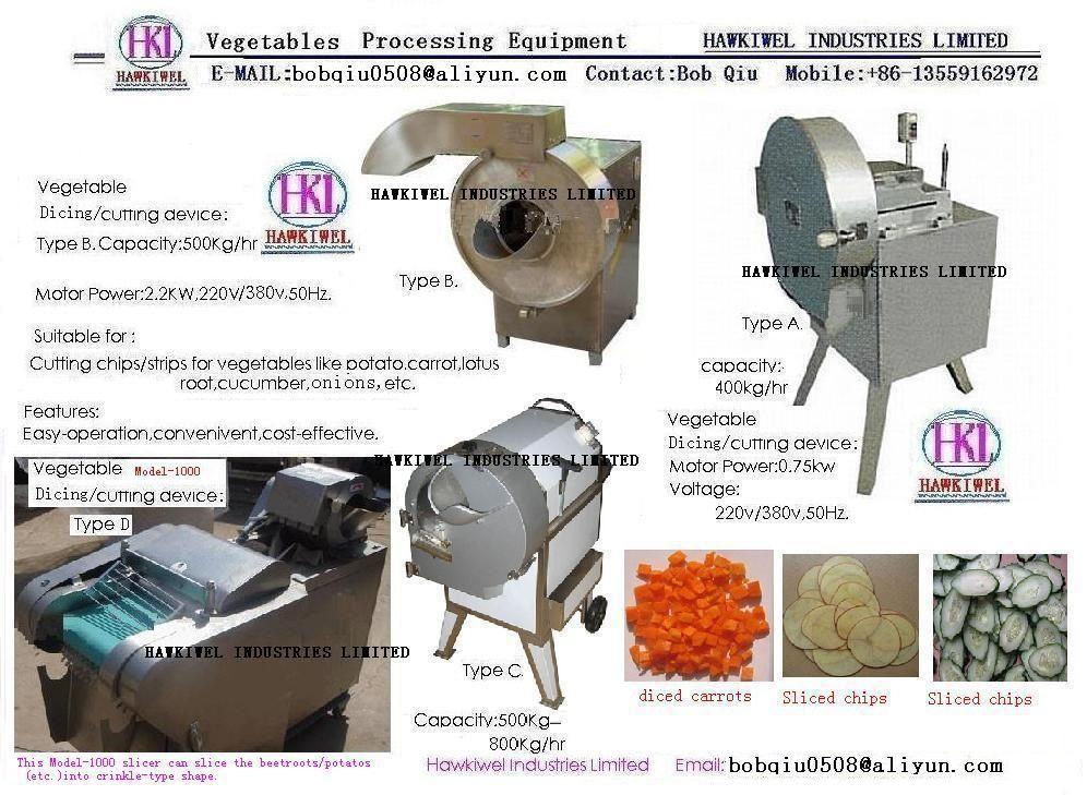 multi-funtction vegetable slicer
