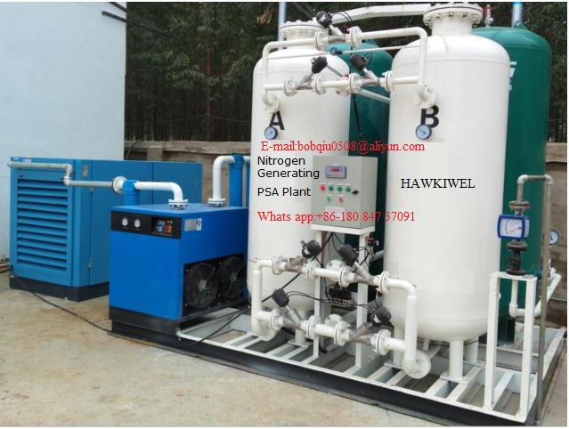 PSA nitrogen generating plant