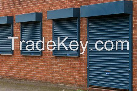 Gate Rolling Shutter Windows