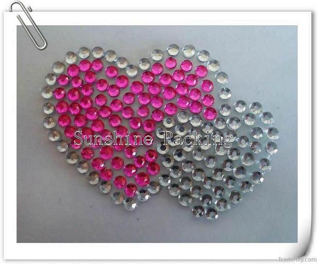 crystal rhinestone sticker