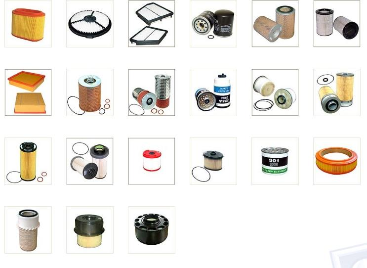 Air, Oil, Fuel Filters