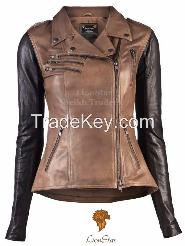 LionStar Retro Ladies Fashion Jacket