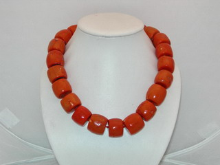 Coral Necklace Jewelry