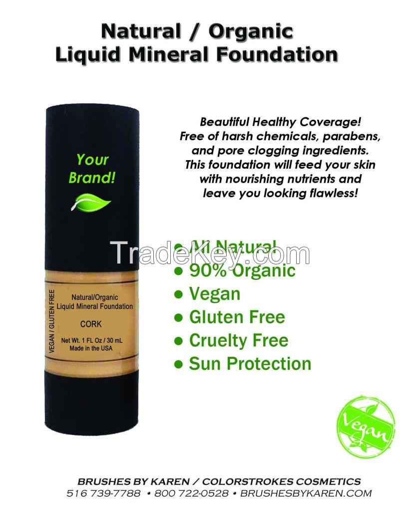 Natural / Organic Liquid Foundation