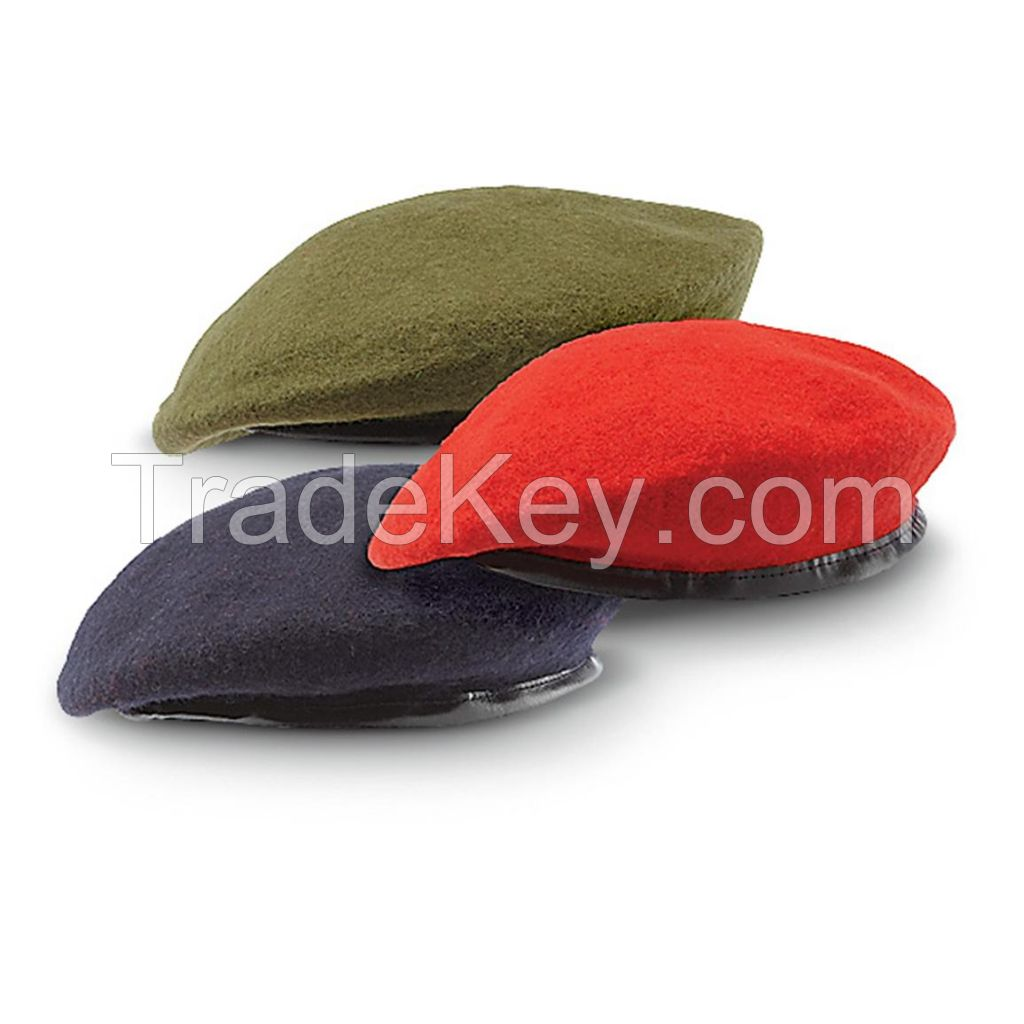MILITARY ARMY BERET CAPS MANUFACTURERS EXPORTERS