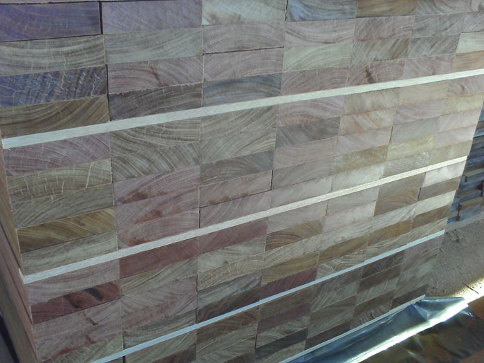 unfinished hardwood decking