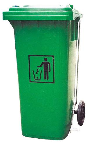 120ltr garbage bin, trash can, dustbin, waste container