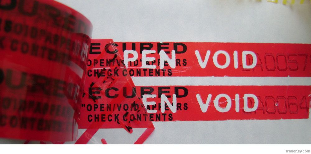 security seals and tapes