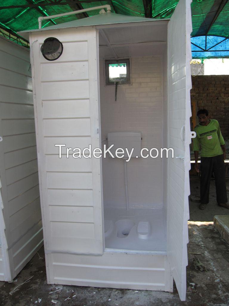 Fiberglass Portable wash Room
