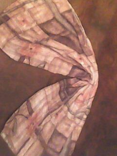 stripeD SHIFFON SCARFE