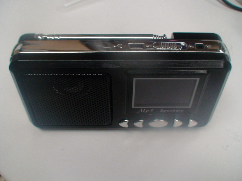 Portable Handheld MP3 Speaker