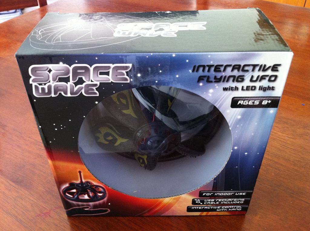 Space Wave Inducton Sensor UFO