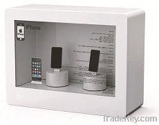 Transparent LCD Showcase