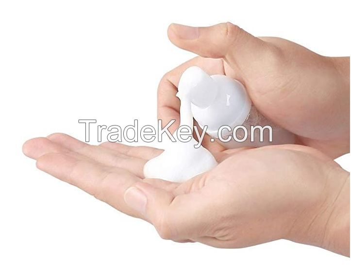 White Foaming Soap Dispenser Bottle - 1.7oz/60ml W/Pump and Cap