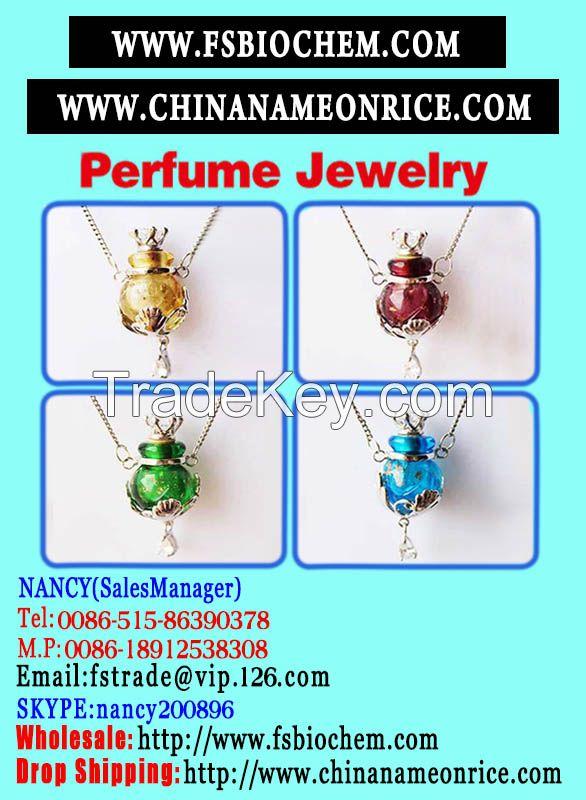 Perfume Necklace, Pendant Necklace,
