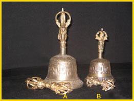 Tibetan bells and Cymbals
