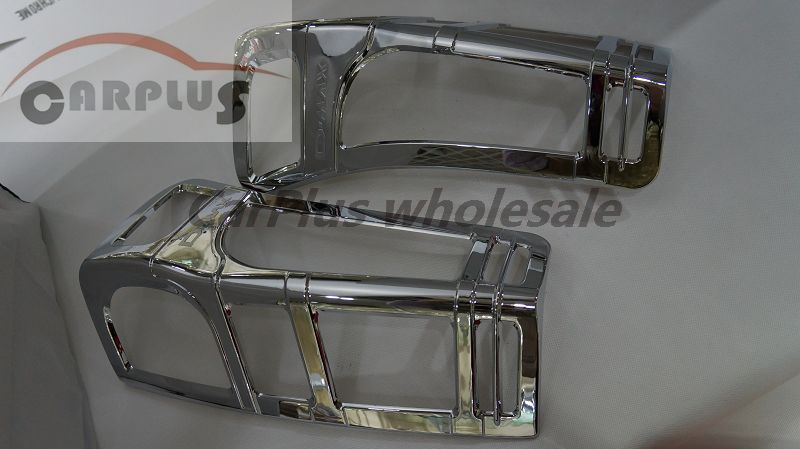 chrome tail lamp cover for 2012 D-MAX