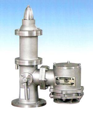 Pressure vacuum (high velocity relief) vavle
