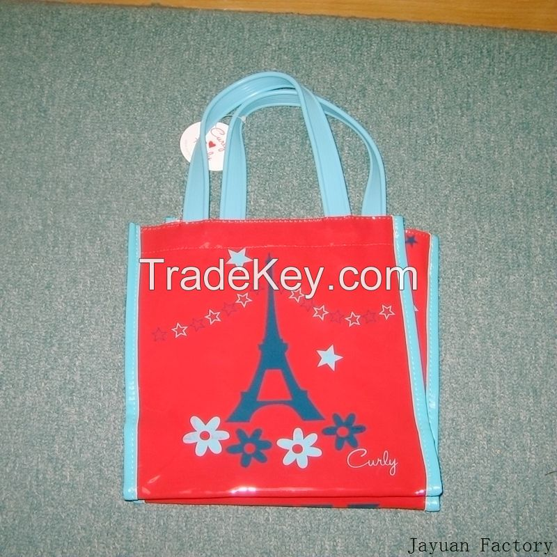 pvc bag hand bag shopping bag