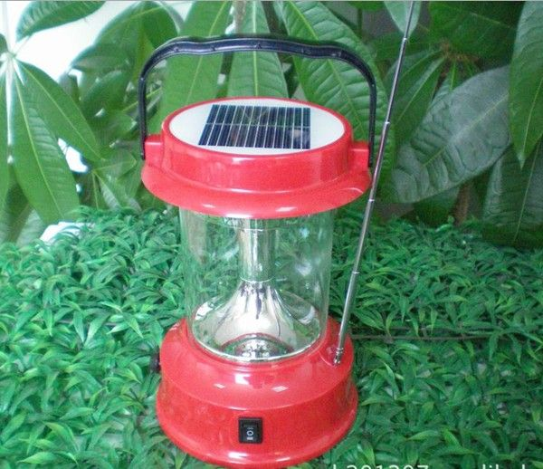 Protable solar emergency LED light comping lights Solar lights