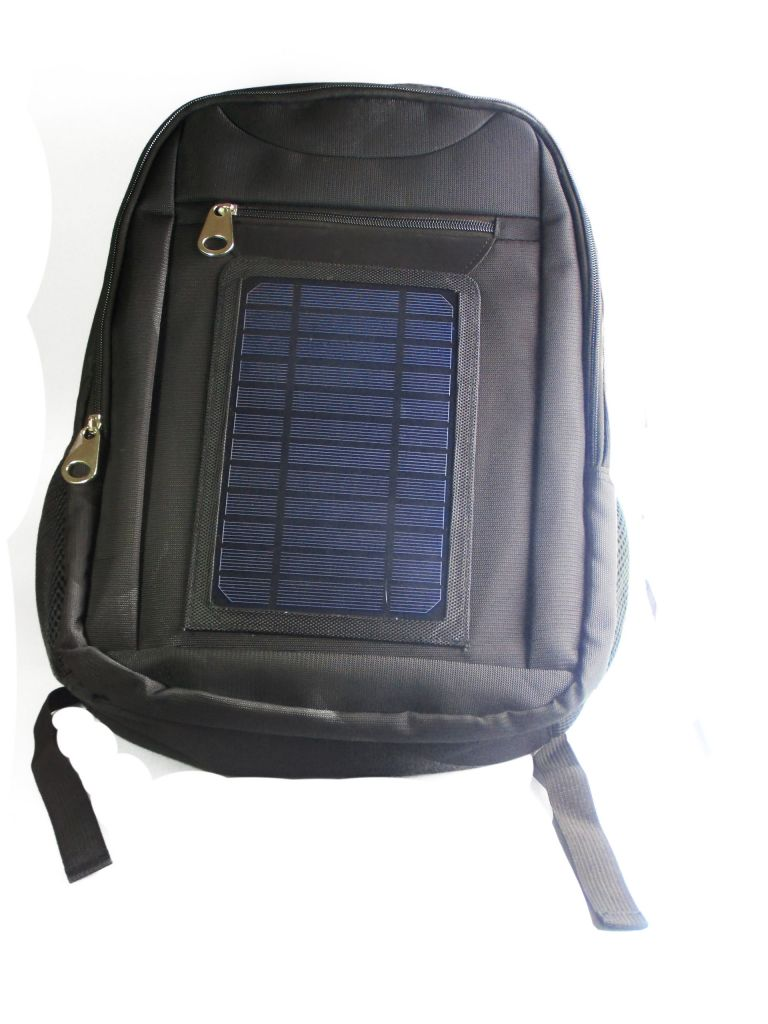 New Solar Power Backpacks Emergency Charger Bags Solar Power Camping Bags