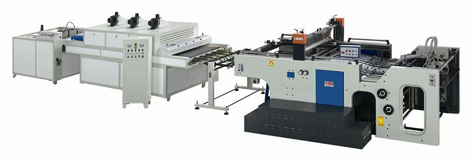 Auto Stop Cylinder Screen Printing Machine
