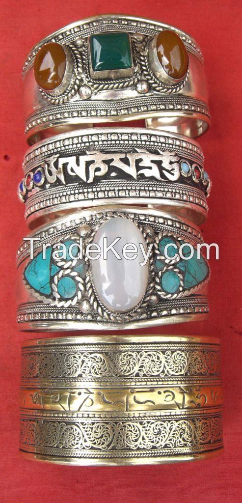 siver bracelets