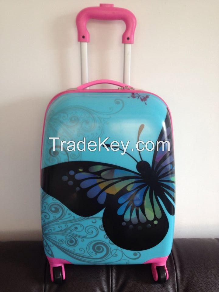 children luggage trolley case school bag egg case