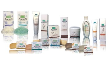 Dead Sea muds, salts, soaps and cosmetics