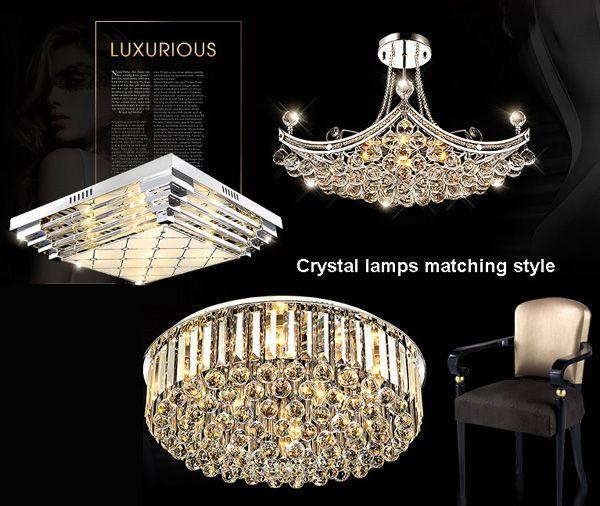 pendant light, crystal chandelier lamp